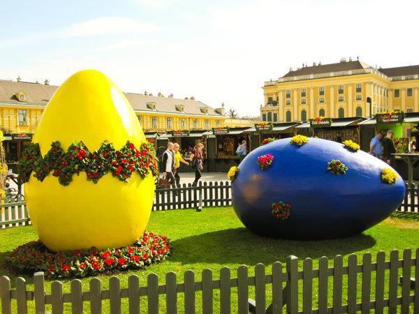 Veľkonočné trhy Schloss hof a čokoládovňa
