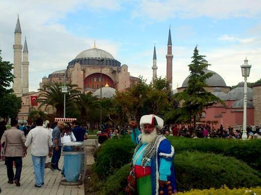 Nový Rok v Istanbule