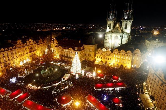Predvianočná Praha