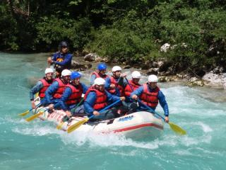 Rafting - Soča a Koritnica