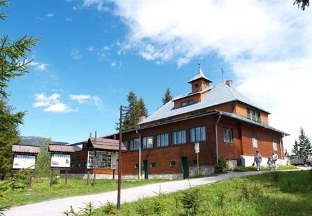 Škola v prírode - Chata Slaná voda