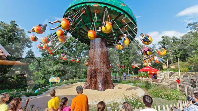 Výlet do zábavného parku v Ruste