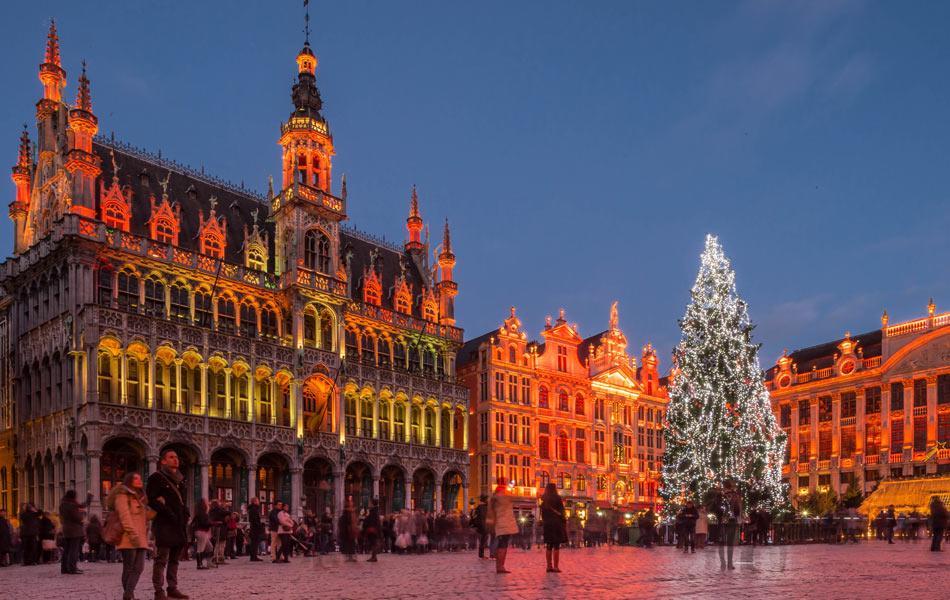 Adventné kúzlo troch najkrajších miest Belgicka