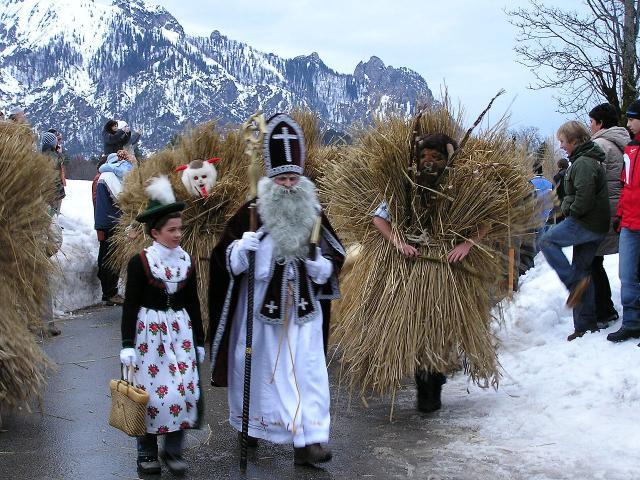 Salzburg a advent v Berchtesgaden