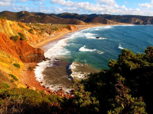 Portugalsko - pobrežie Algarve a história Alenteja