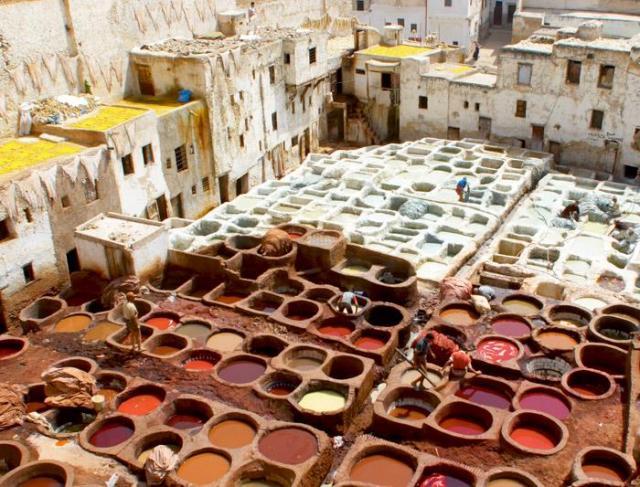 Maroko - križovatka farieb a vôní