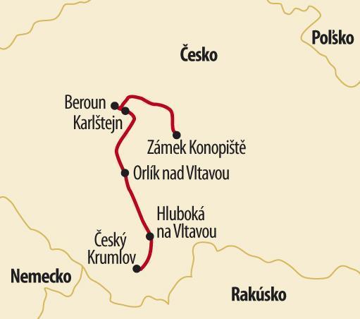 Hrady a zámky z Českých rozprávok