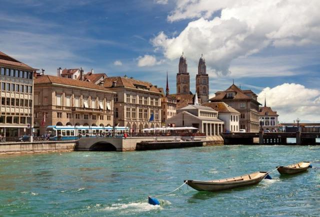 Najkrajšie mestá Švajčiarska