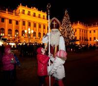Mikuláš v Schonbrunne