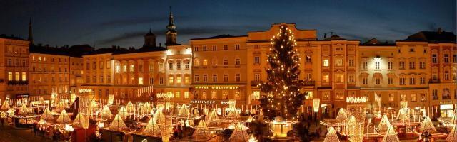 Najkrašie adventné trhy v Rakúsku