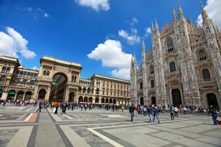Miláno - mesto módy