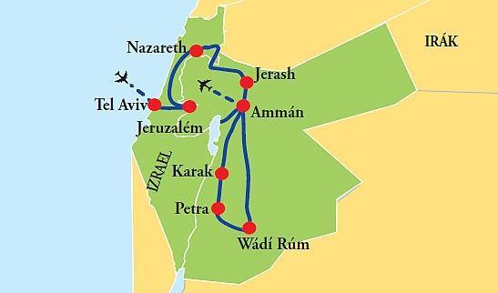 To najlepšie z Izraela a Jordánska