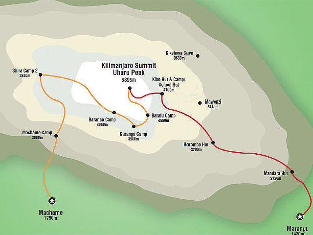 Kilimandžáro cestou Marangu