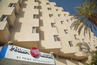 Červené more - Eilat - Hotel Prima Music