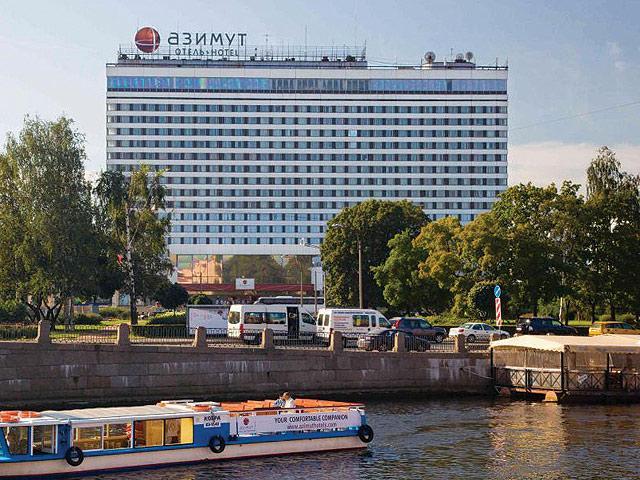 Eurovíkend v Petrohrade - Hotel Azimut