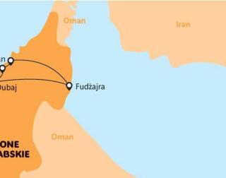 Spojené arabské emiráty - Dobrodružství se šejkem