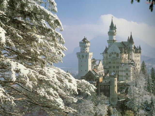 Vianoce na bavorských zámkov