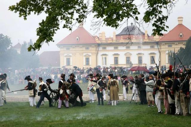 Napoleonské dni - Slávkov a Brno
