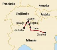 Najkrajšie jazerá na pomedzí Talianska a Švajčiarska