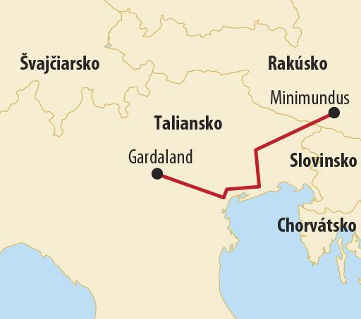 Gardaland s návštevou Caneva World
