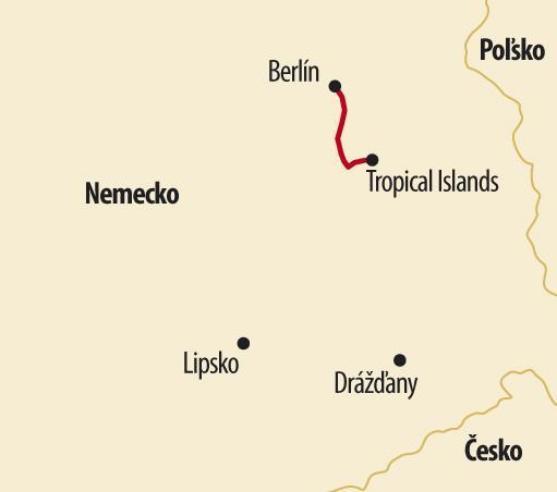 Berlín pre deti s návštevou Tropical Islands