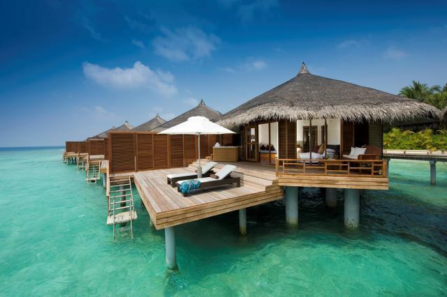 Maldivy a relax v hoteli Kuramathi 4*+