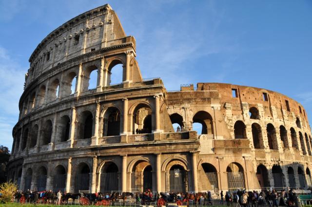 Florencia, Siena, Rím