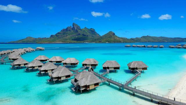 Nový Zéland a Tahiti (Bora Bora)