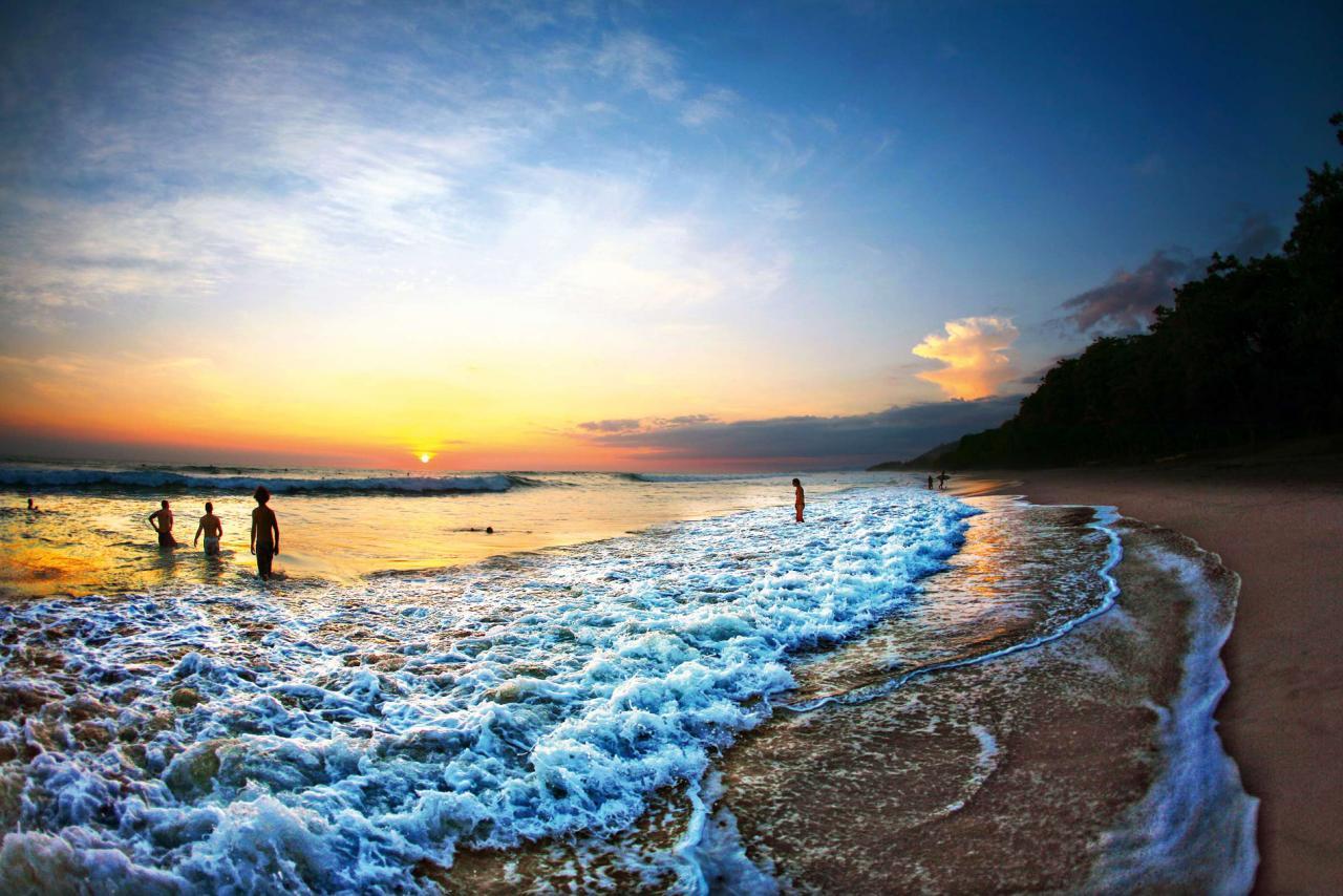 Panama, Kostarika a pláž