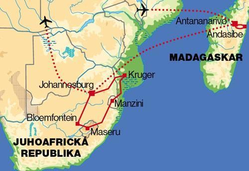 JAR, Madagaskar (Komfort)