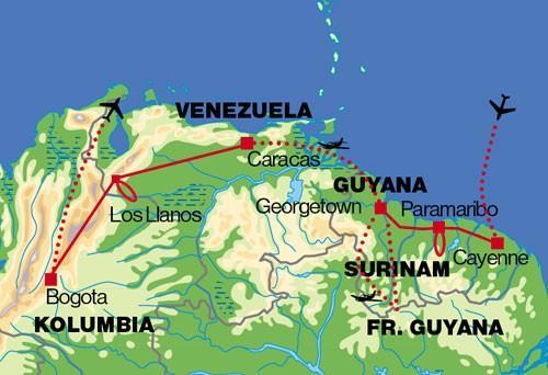 Južná Amerika raz za život 26 dní