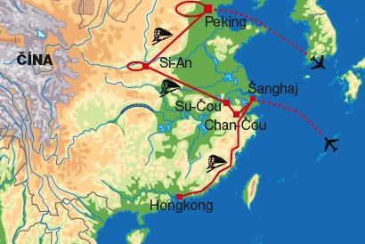 Veľký okruh Čínou (Hongkong, Macao, Čína) (Komfort)