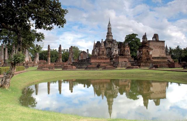 Veľký okruh Thajskom