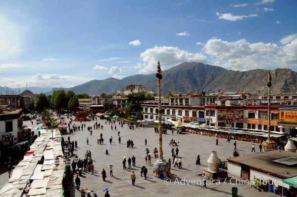 Čína a Tibet 2017