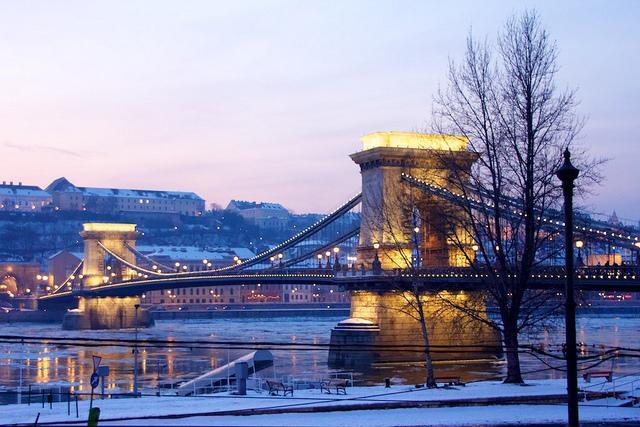 Na advent do Budapešti