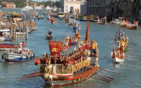 Benátky - historická regata