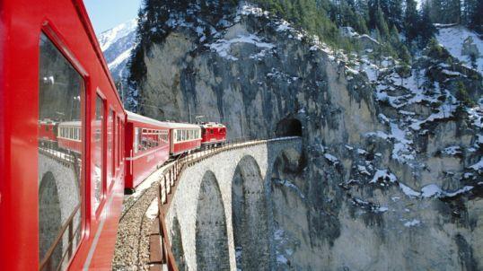Švajčiarsko a Glacier Express