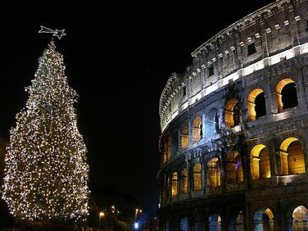 Silvester a Nový rok v Ríme