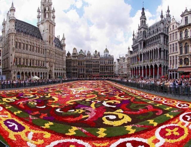 Letecky do Brusselu
