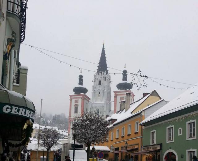 Mariazell a tradičný Krampuslauf BA