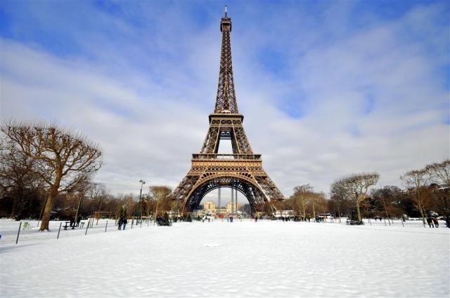 Silvestrovský Paríž