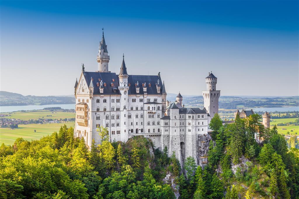 Bavorsko - zámky a hory
