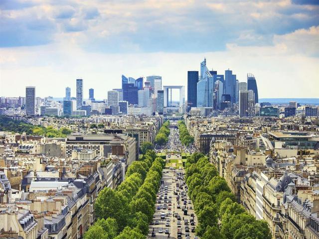 Paríž krížom krážom