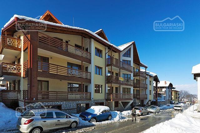 Bansko-lyžiarske stredisko v Bulharsku