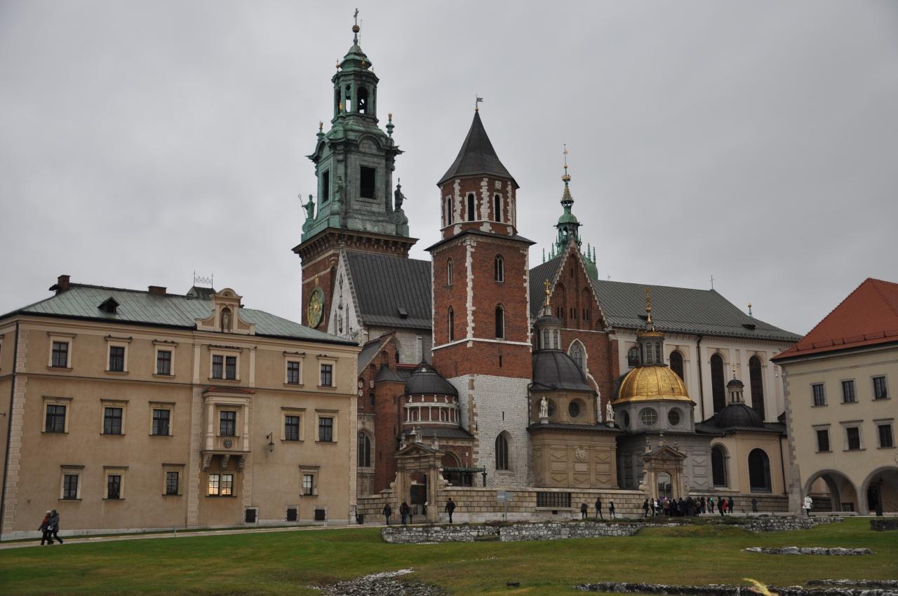 Predvianočný Krakow