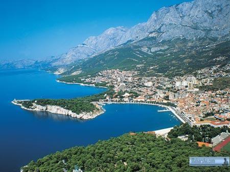 Makarska, Pokoje s polopenzí v soukromí no-name