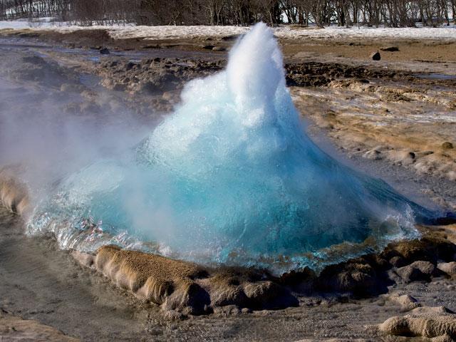 Jediným zužitkovaním jej vody sú umelé gejzíry tryskajúce do výšky.