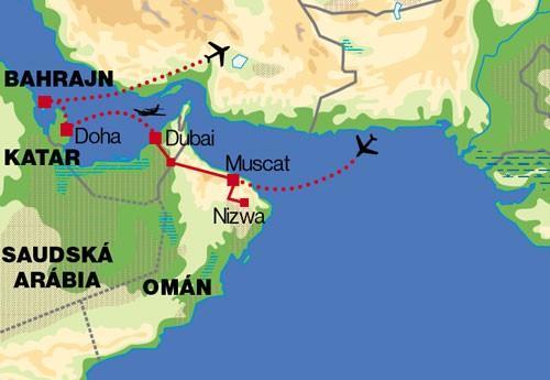 Oman Dubaj Katar Bahrajn Kuvajt Komfort Katar Katar 1
