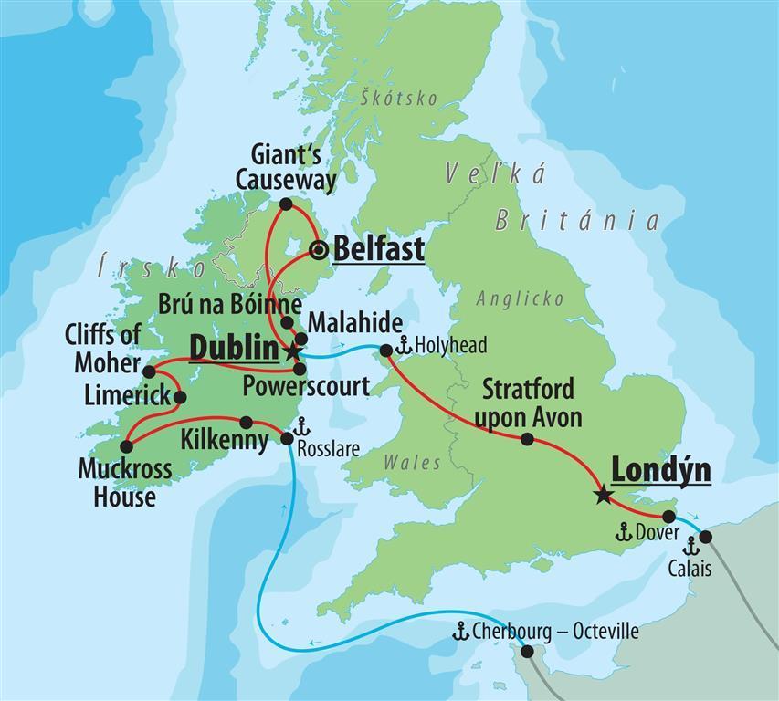 Last Minute Severne A Juzne Irsko Veľka Britania Severne Irsko